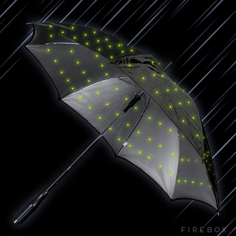 Oplichtende paraplu | Milledoni - Spot on gifts