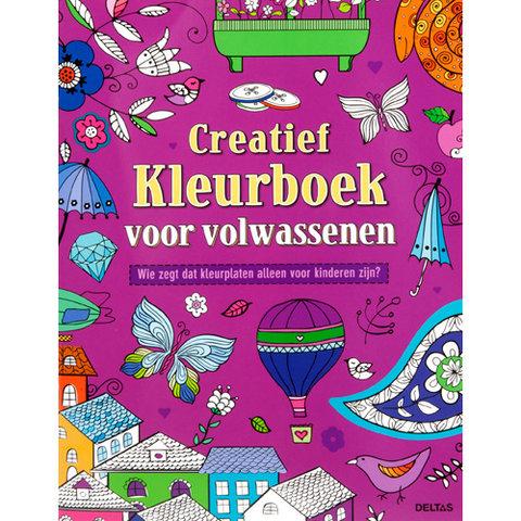 Kleurplaten Voor Volwassenen Handen.Creatief Kleurboek Voor Volwassenen Milledoni Spot On Gifts