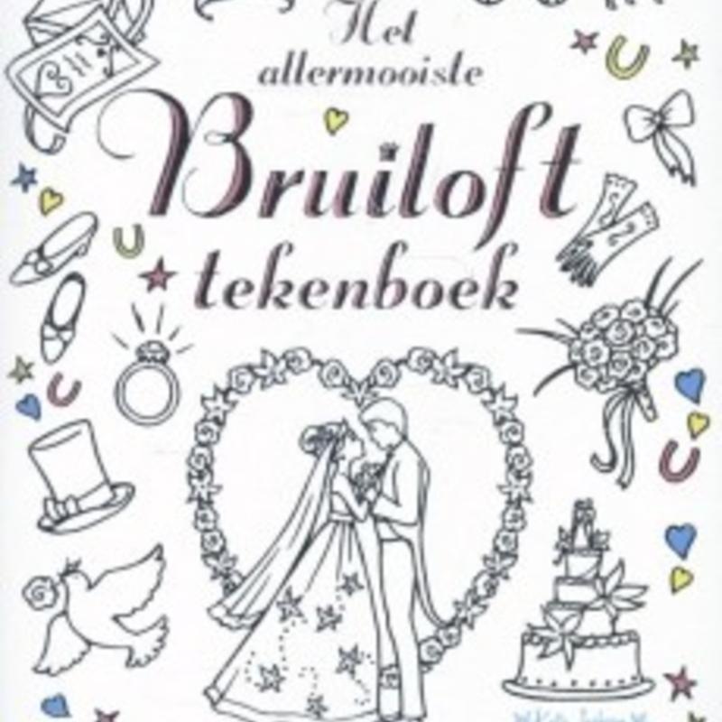 Het Allermooiste Bruiloft Tekenboek Milledoni Spot On