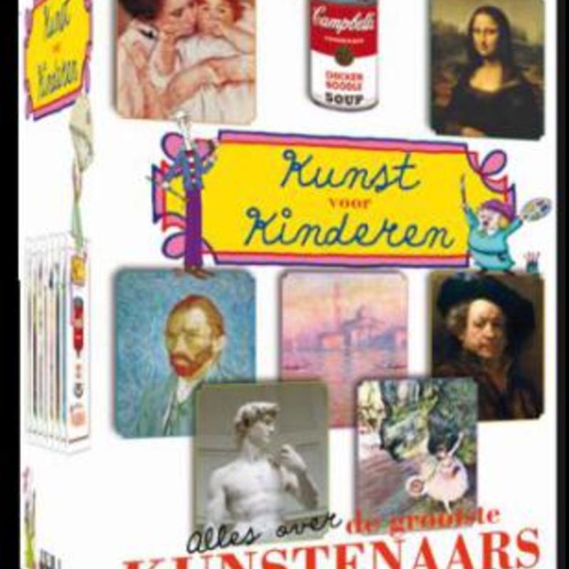 Vaak Kunst Voor Kinderen - DVD box | Milledoni - Spot on gifts &RW05