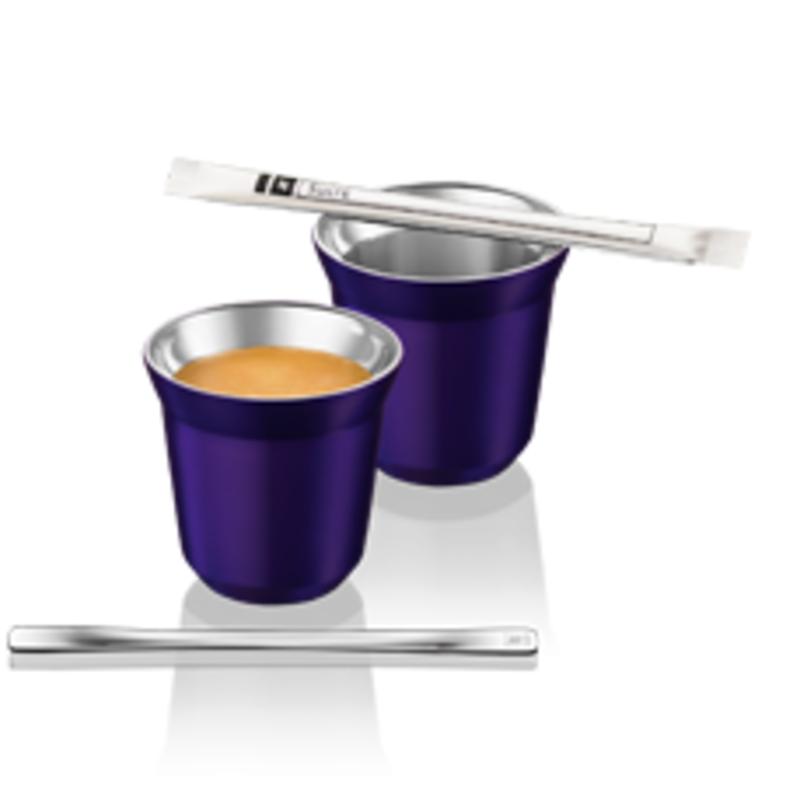 dubbelwandige nespresso kopjes milledoni spot on gifts. Black Bedroom Furniture Sets. Home Design Ideas