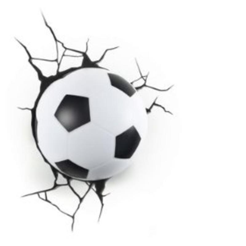 Bekend Voetbal lamp voor de echte fan | Milledoni - Spot on gifts OR33