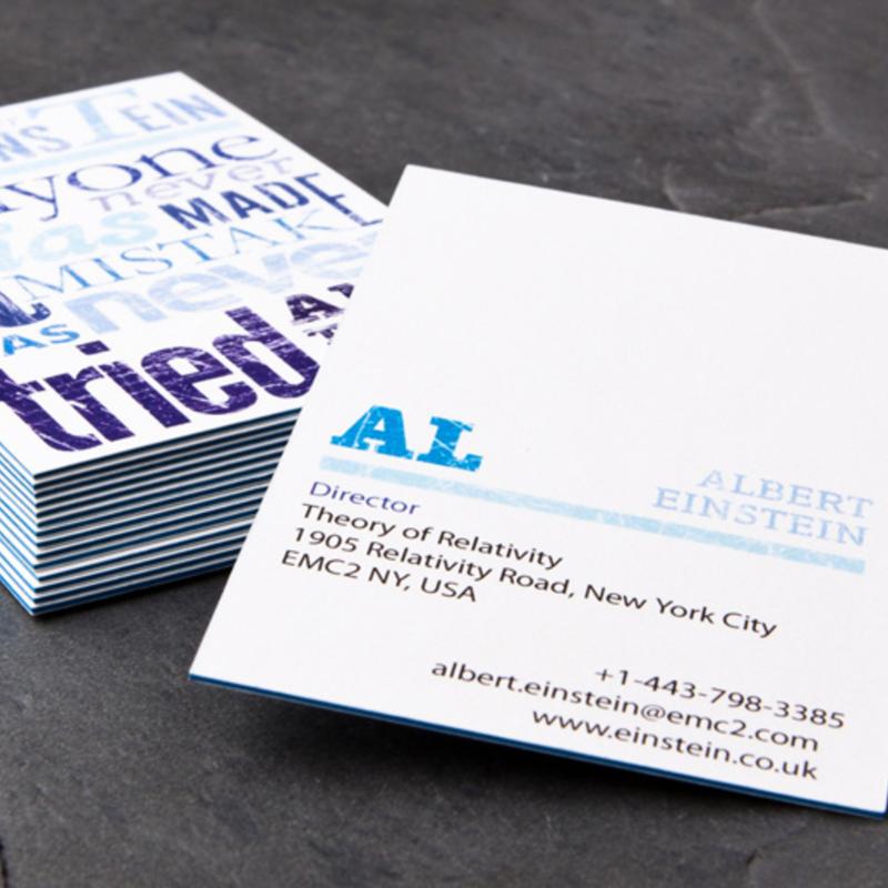 Maak je eigen business card milledoni spot on gifts de mogelijkheid om een gepersonaliseerde business card te maken reheart Images