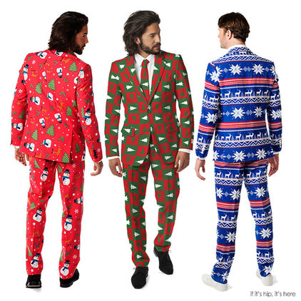 Christmas Sweater Suit.Ugly Christmas Sweater Suit