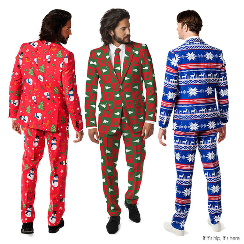 Ugly Kersttrui.Ugly Christmas Sweater Suit Milledoni Spot On Gifts