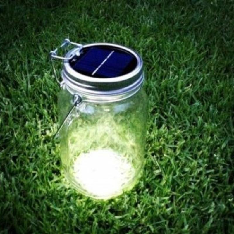 Consol Solar Jar Lamp Milledoni Spot On Gifts