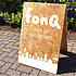 Fonq pop-up gift store buitenbord
